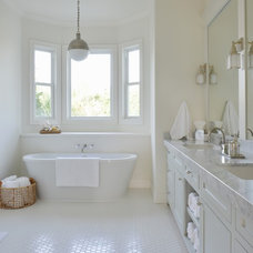 Beach Style Bathroom by Munger Interiors