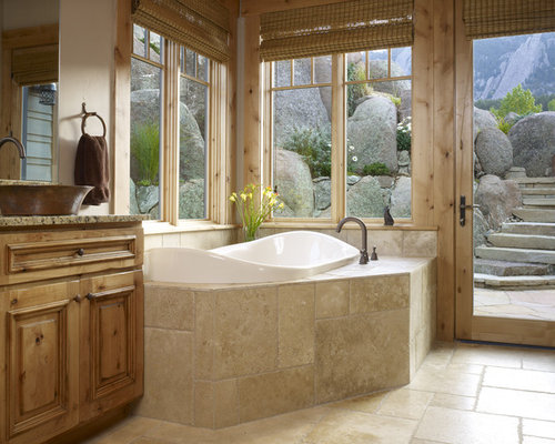 Corner Garden Tub Ideas Pictures Remodel and Decor