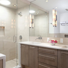 Contemporary Bathroom by Anne Grice Interiors