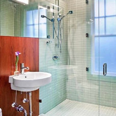 Modern Bathroom by David Wilkes Builders