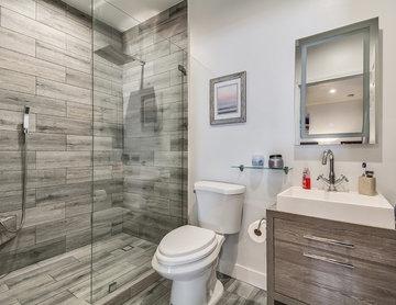 Garage conversion to apartment - Bathroom