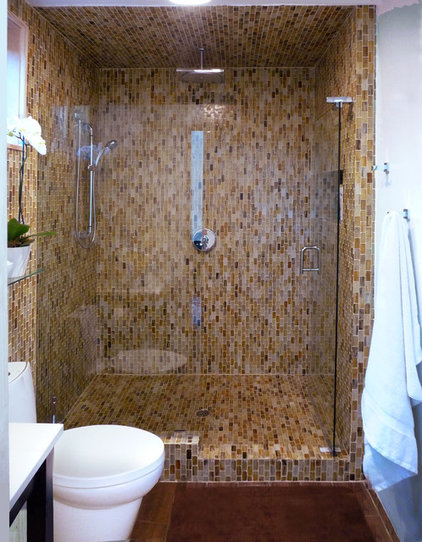 contemporary bathroom by Urban Oasis
