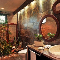 Tropical Bathroom by Nefer Garcia