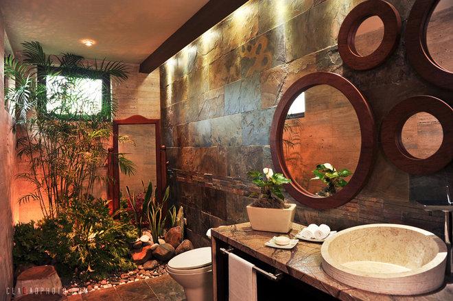 Tropical Bathroom by Nefer Garcia