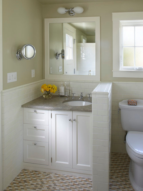 Small cottage bathroom houzz for English cottage bathroom ideas