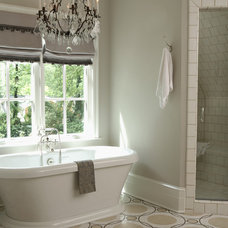 Traditional Bathroom by Rabaut Design Associates, Inc.