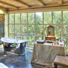 eclectic bathroom by Dave Adams Photography