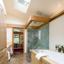 Modern Bathroom by Balance Associates Architects