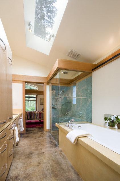 Modern Bathroom by Balance Associates Architects