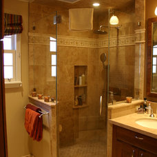 Traditional Bathroom by Podesta Construction