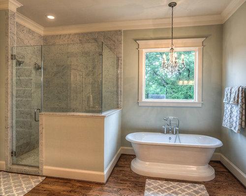 Foto e Idee per Stanze da Bagno - stanza da bagno con pavimento in ...