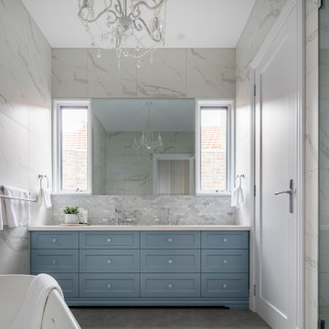 Gardenvale Project Hamptons Style Master Ensuite
