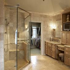 Traditional Bathroom by Tim Benkowski