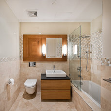 Contemporary Bathroom by Garfield Tile Outlet Inc.