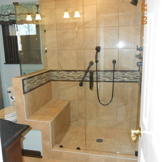Bathroom by Before and After Builders, Inc