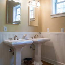 Farmhouse Bathroom by Adrienne DeRosa