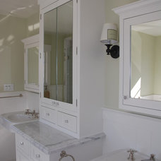 Traditional Bathroom by Lane Design + Build