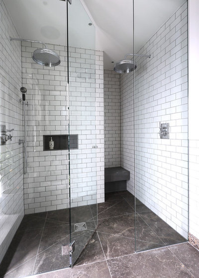 Shower Tile Mix : Tips for mixing and matching tile styles