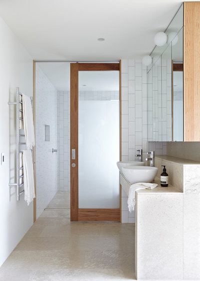 Contemporary Bathroom by Austral Masonry