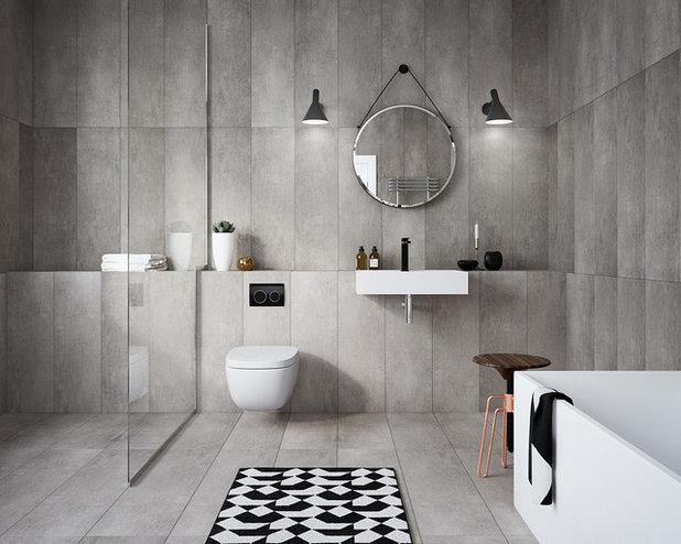 Contemporáneo Cuarto de baño by Geberit Australia
