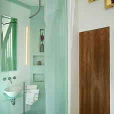 Contemporary Bathroom by The Galante Architecture Studio, Inc.