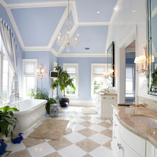 Traditional Bathroom by Peter Dorne Architects