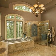Contemporary Bathroom by Moceri Construction