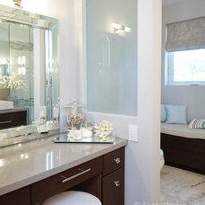 Contemporary Bathroom by Sealy Design Inc.