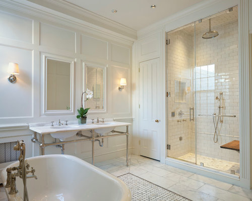 3x5 shower bathroom design ideas remodels photos for Bathroom design 3x5