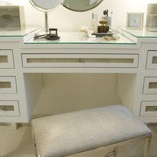 Transitional Bathroom by Zoe Feldman Design, Inc.
