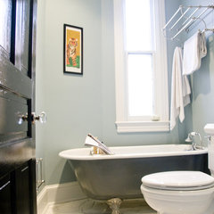 eclectic bathroom by Zoe Feldman Design, Inc.