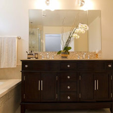 Traditional Bathroom by Georgette Westerman Interiors