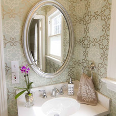 Contemporary Bathroom by Georgette Westerman Interiors