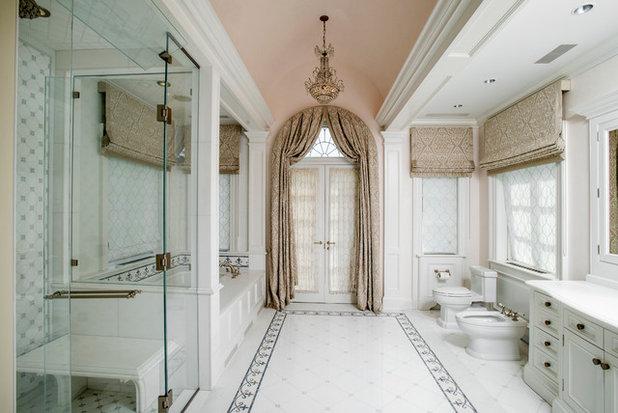 Traditional Bathroom by Thompson Raissis Architects