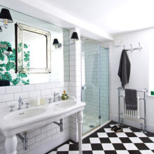 Traditional and Contemporary Bathrooms