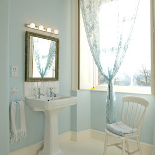 Design ideas for a traditional bathroom in Dorset.