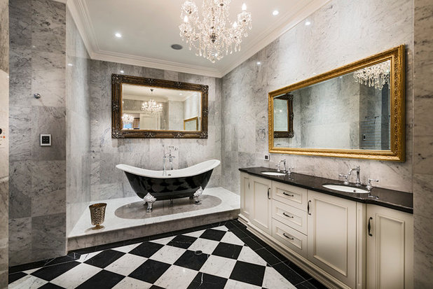 Traditional Bathroom by Oswald Homes
