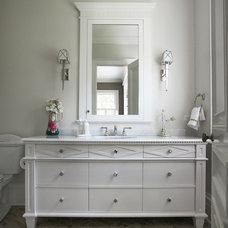 Traditional Bathroom by Brooks and Falotico Associates, Inc.
