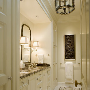 Elegant mosaic tile bathroom photo in San Francisco