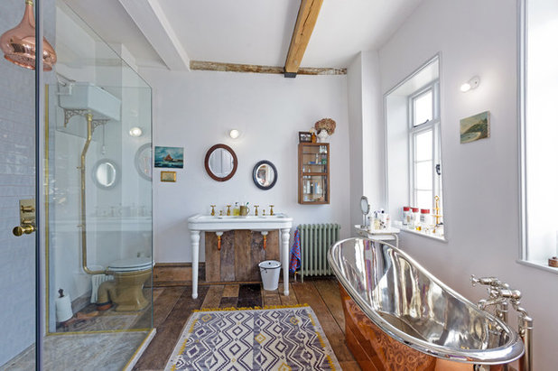 Eclectic Bathroom by The Curious House