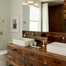 Contemporary Bathroom by Gilligan Development