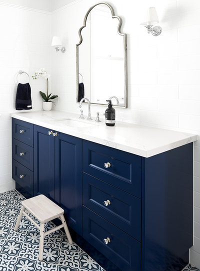 Transitional Bathroom by Pncbuilt