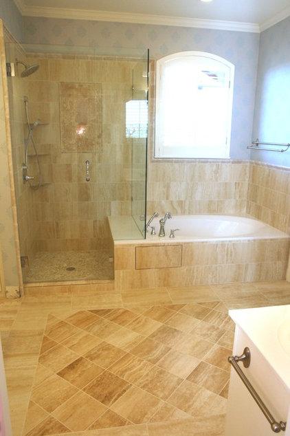 Traditional Bathroom by Lane Design Studio llc