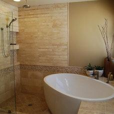 Contemporary Bathroom by Hornbeck Design Partners