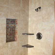 Contemporary Bathroom by Stone Creek Installations