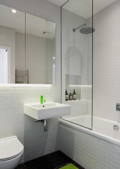 Scandinavian Bathroom by Emil Eve Architects