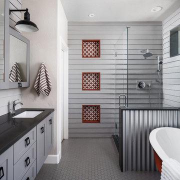 Gilbert (Agritopia) Rustic Master Bathroom