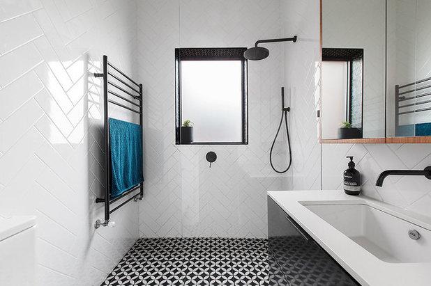 Contemporary Bathroom by Maria Savelieva Photography