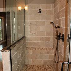 Craftsman Bathroom by Castleridge Home Builders