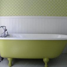 Traditional Bathroom by Amy Cuker, MBA, LEED AP